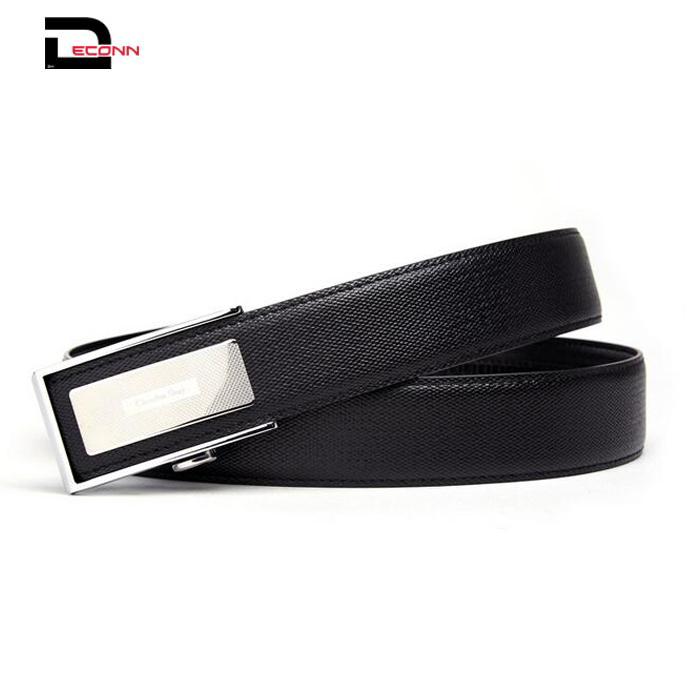 Casual Split Leather Men Belt with fashion buckle - 副本