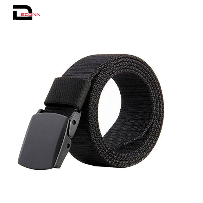 Mens Nylon Web Military Casual Army Outdoor Tactical Flexible Belt - 副本