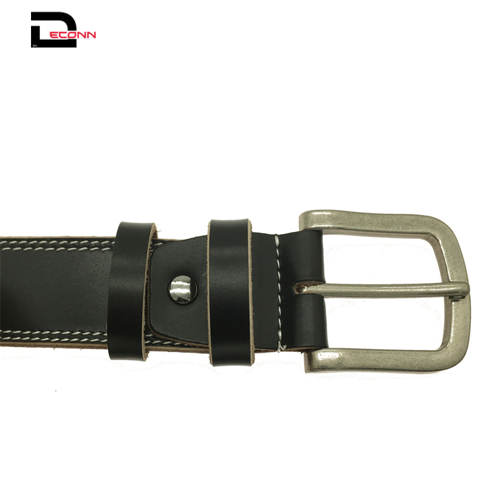 Mens Second Layer Leather Casual Dress Belt - 副本