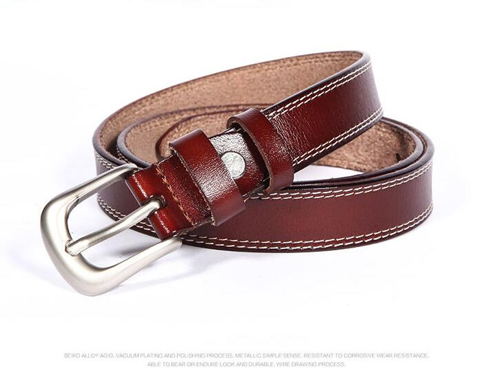 Women Casual Skinny Leather High quality Dress Belts for Jeans Short Pants - 副本 - 副本