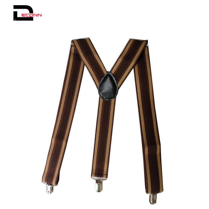 Mens Suspenders With Strong Clips Heavy Duty Braces Y Shape - 副本