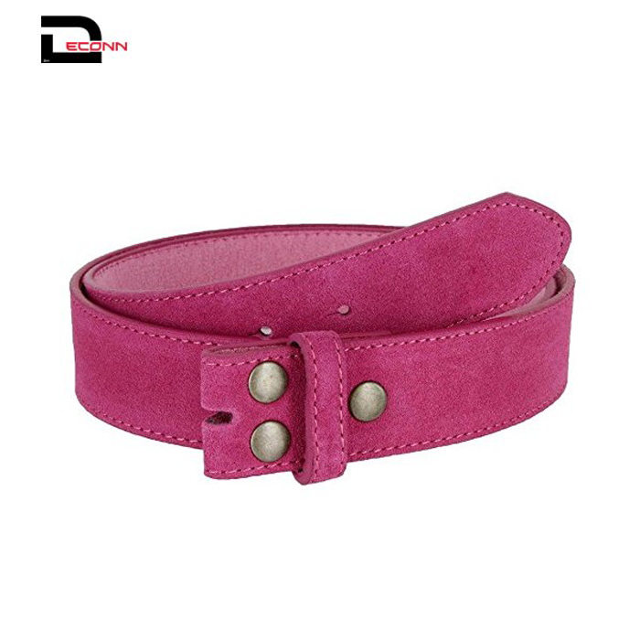 Fashion Suede Leather Casual Jean Dress Belt Strap for Women  - 副本