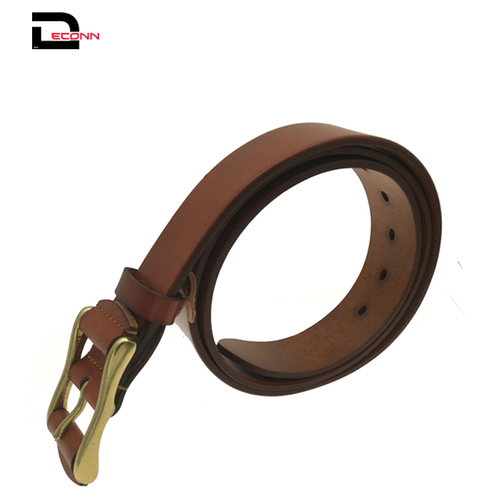 Casual Jean Italian Genuine Leather Men Belt