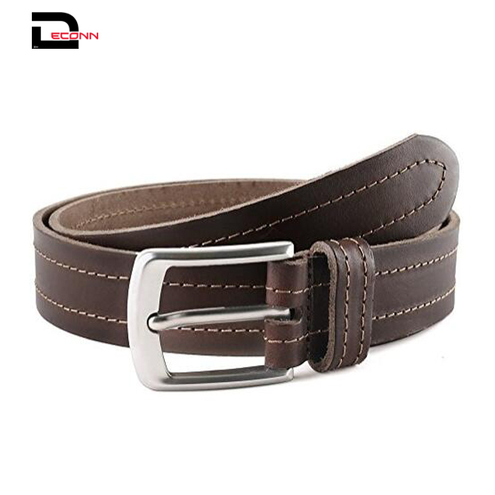 Casual Jean Genuine Leather Belt For Men