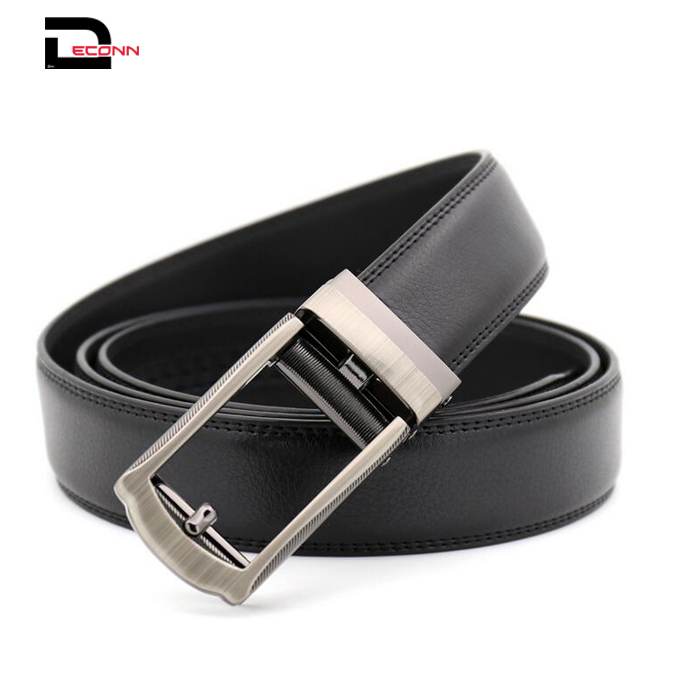 Men  Leather Ratchet Dress Belt for Men Perfect Fit Waist Size Up to 44